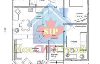 Проект дома из СИП панелей Купол - МосСипСтрой (изображение 1)