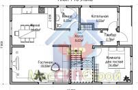 Проект дома из СИП панелей Семейный - МосСипСтрой (изображение 6)