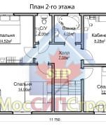 Проект дома из СИП панелей Семейный - МосСипСтрой (изображение 2)