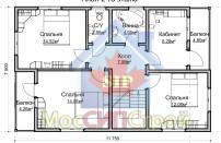 Проект дома из СИП панелей Семейный - МосСипСтрой (изображение 7)