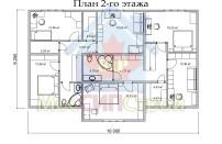 Проект дома из СИП панелей Дом на три семьи - МосСипСтрой (изображение 2)
