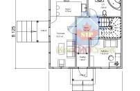 Проект дома из СИП панелей Империя1 - МосСипСтрой (изображение 1)