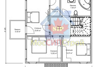 Проект дома из СИП панелей Империя1 - МосСипСтрой (изображение 2)