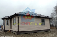 Проект дома из СИП панелей Купол - МосСипСтрой (изображение 17)