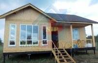 Проект дома из СИП панелей Лужок - МосСипСтрой (изображение 10)
