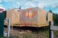 Проект дома из СИП панелей Дом на три семьи - МосСипСтрой (изображение 11)