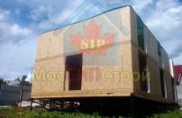 Проект дома из СИП панелей Дом на три семьи - МосСипСтрой (изображение 13)