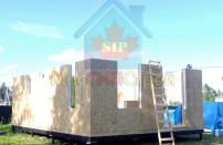 Проект дома из СИП панелей Винёво - МосСипСтрой (изображение 4)