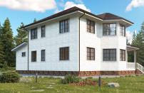 Проект дома из СИП панелей Гришенки - МосСипСтрой (изображение 1)