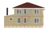 Проект дома из СИП панелей Гришенки - МосСипСтрой (изображение 2)