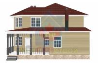Проект дома из СИП панелей Гришенки - МосСипСтрой (изображение 3)