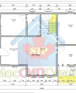 Проект дома из СИП панелей Дятловка - МосСипСтрой (изображение 1)