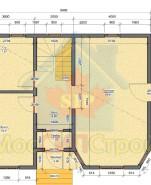 Проект дома из СИП панелей Сонино - МосСипСтрой (изображение 1)