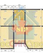 Проект дома из СИП панелей Сонино - МосСипСтрой (изображение 2)