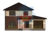 Проект дома из СИП панелей Марфино Z24 - МосСипСтрой (изображение 4)
