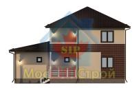 Проект дома из СИП панелей Марфино Z24 - МосСипСтрой (изображение 2)