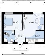 Проект дома из СИП панелей Брайтон - МосСипСтрой (изображение 2)