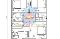 Проект дома из СИП панелей Елена - МосСипСтрой (изображение 3)