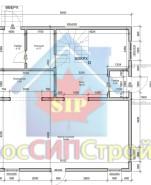 Проект дома из СИП панелей Таруса - МосСипСтрой (изображение 1)