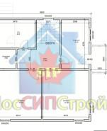 Проект дома из СИП панелей Таруса - МосСипСтрой (изображение 2)
