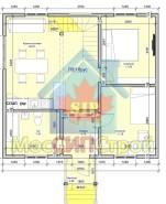 Проект дома из СИП панелей Кутузов - МосСипСтрой (изображение 1)