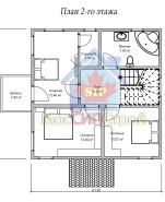 Проект дома из СИП панелей Империя - МосСипСтрой (изображение 2)