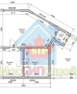 Проект дома из СИП панелей Баня - МосСипСтрой (изображение 1)