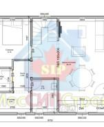 Проект дома из СИП панелей Раменское - МосСипСтрой (изображение 1)