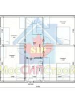 Проект дома из СИП панелей Раменское - МосСипСтрой (изображение 2)