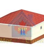 Проект дома из СИП панелей Лилиана - МосСипСтрой (изображение 1)