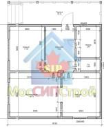 Проект дома из СИП панелей Лилиана - МосСипСтрой (изображение 2)