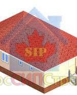 Проект дома из СИП панелей Маргарита  - МосСипСтрой (изображение 1)