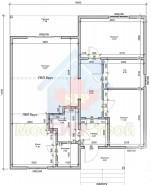 Проект дома из СИП панелей Финикс - МосСипСтрой (изображение 1)