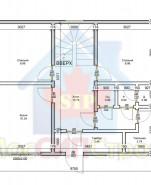 Проект дома из СИП панелей Салтыковка - МосСипСтрой (изображение 1)