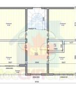 Проект дома из СИП панелей Салтыковка - МосСипСтрой (изображение 2)