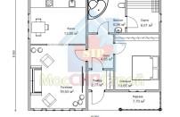 Проект дома из СИП панелей Лужок - МосСипСтрой (изображение 5)