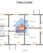 Проект дома из СИП панелей Дуплекс №1 - МосСипСтрой (изображение 2)