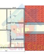 Проект дома из СИП панелей Дуплекс - МосСипСтрой (изображение 2)