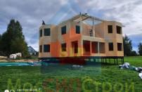 Проект дома из СИП панелей Македония  - МосСипСтрой (изображение 9)