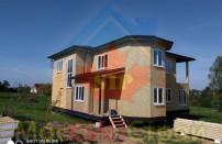 Проект дома из СИП панелей Македония  - МосСипСтрой (изображение 11)