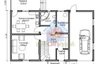 Проект дома из СИП панелей Громково - МосСипСтрой (изображение 2)