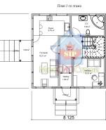 Проект дома из СИП панелей Империя - МосСипСтрой (изображение 1)