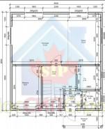 Проект дома из СИП панелей Алачкова - МосСипСтрой (изображение 1)