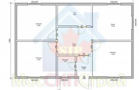 Проект дома из СИП панелей Гармониха - МосСипСтрой (изображение 1)