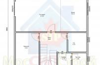 Проект дома из СИП панелей Индивидуальный  - МосСипСтрой (изображение 1)